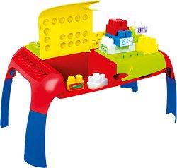 Детска маса - конструктор - играчка