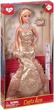 Кукла Луси във вечерна рокля - кукла