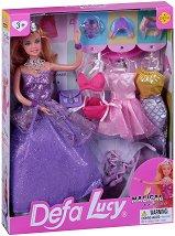 """Кукла Луси - Магическа принцеса - От серията """"Defa Lucy"""" - несесер"""