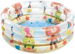 Надуваем бебешки басейн - Животни на плажа - басейн