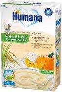 Инстантна безмлечна каша - Ориз с тиква - Опаковка от 200 g за бебета над 6 месеца -