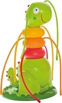 Пръскалка - Гъсеница - Детска играчка -