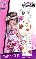 Временни татуировки - Принцеса - Комплект от 2 листа