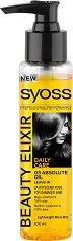 Syoss Beauty Elixir Absolute Oil - Подхранващо олио за суха и увредена коса -