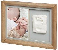 """Рамка за снимка и отпечатък - Tiny Touch - От серия """"Wooden"""" -"""