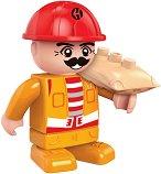 """Строител - Мини фигура от серията """"BanBao Construction"""" -"""