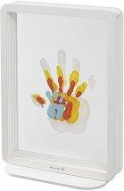 """Рамка за семейни отпечатъци - Family Touch - Комплект с боички от серията """"Crystal Line"""" -"""