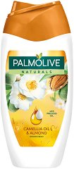 "Palmolive Naturals Camellia Oil & Almond Shower Cream - Душ крем с масло от камелия и бадем от серията ""Naturals"" - душ гел"