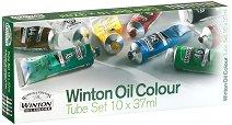 """Маслени бои - Комплект от 10 цвята x 37 ml от серията """"Winton"""" -"""