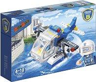 """Полицейски хидроплан - Детски конструктор от серията """"BanBao Police"""" - играчка"""