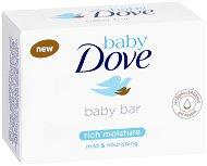 """Baby Dove Baby Bar Rich Moisture - Бебешки сапун за дълбока хидратация от серията """"Baby Dove"""" -"""