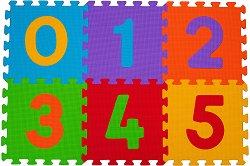 Цифри - Детски образователен пъзел-килим -