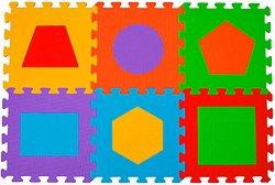 Фигури - Детски образователен пъзел-килим - пъзел