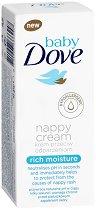 """Baby Dove Nappy Cream Rich Moisture - Бебешки крем против подсичане от серията """"Baby Dove"""" - продукт"""