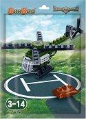 """Военен хеликоптер - Мини конструктор от серията """"BanBao Defence Force"""" - играчка"""