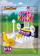 """Сцена - Мини конструктор от серията """"BanBao Trendy City"""" - играчка"""