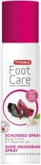 """Titania Foot Care Shoe Deodorant Spray - Спрей дезодорант за обувки от серията """"Foot Care"""" - продукт"""