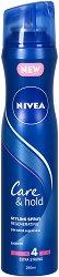 Nivea Care & Hold Regenerating Hairspray - Лак за коса със силна фиксация -