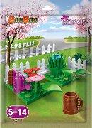 """Градина с цветя - Детски конструктор от серията """"BanBao Trendy City"""" -"""