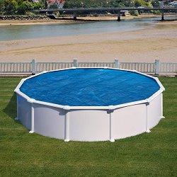 Изотермично кръгло покривало за басейн с размер ∅ 455 cm -