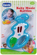 Дрънкалка - Зайче - Музикална играчка - играчка