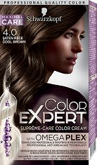 Schwarzkopf Color Expert Supreme-Care Color Cream - Трайна крем боя за коса със серум против накъсване с OmegaPlex® - молив
