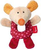 Мишка - Мека бебешка играчка -
