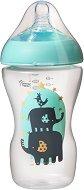 Бебешкo шише за хранене - Ultra 340 ml - Комплект със силиконов биберон за бебета над 3 месеца -