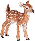 """Белоопашат елен - бебе - Фигура от серията """"Животните в гората"""" - фигура"""