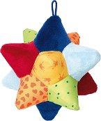 Звезда - Мека бебешка играчка -