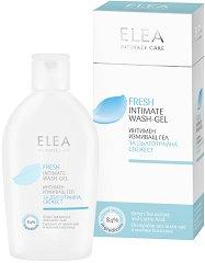 Еlea Intimate Care Fresh Wash-Gel - Интимен измиващ гел със зелен чай - лосион