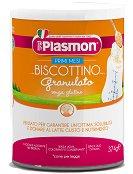 Plasmon - Бебешки гранулирани бишкоти - Метална кутия от 374 g за бебета след 4 месеца - пюре