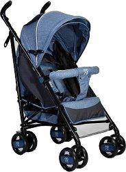 Лятна бебешка количка - Joy - С 4 колела -