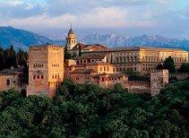 Крепостта Алхамбра, Испания - пъзел