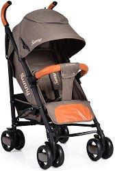 Лятна бебешка количка - Sunny - С 4 колела - количка