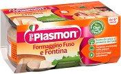 Plasmon - Пюре от сирене фонтина - Опаковка от 2 х 80 g за бебета над 6 месеца -