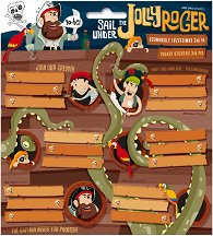 Етикети за тетрадки - Jolly Roger -