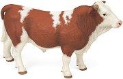 """Бик - Симентал - Фигура от серията """"Животните във фермата"""" - фигура"""