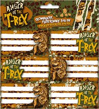 Етикети за тетрадки - T-Rex -