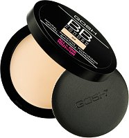 Gosh BB Powder All in One - Матираща BB пудра за лице - пудра