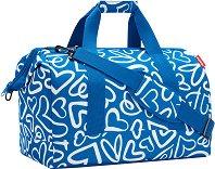 """Пътна чанта - От серията """"Allrounder: Funky Hearts"""""""