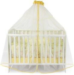 Балдахин от тюл за бебешко креватче -