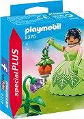"""Принцеса на цветята - Детски конструктор от серията """"Special: Plus"""" - фигури"""