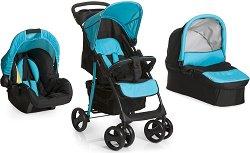 Бебешка количка 3 в 1 - Shopper SLX Trio Set - С 4 колела -