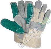 Работни ръкавици от телешка кожа - Magpie - Размер 10.5 (27.5 cm)