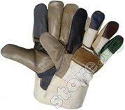 Работни ръкавици от телешка кожа - Firefinch - Размер 11 (29 cm)
