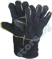 Работни ръкавици от телешка кожа - Sandpiper