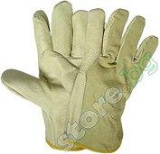 Работни ръкавици от лицева кожа - Heron - Размер 10.5 (27.5 cm)