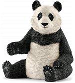 """Гигантска седяща панда - женска - Фигура от серията """"Животни от дивия свят"""" - фигура"""