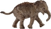 """Индийски слон - бебе - Фигура от серията """"Животни от дивия свят"""" -"""